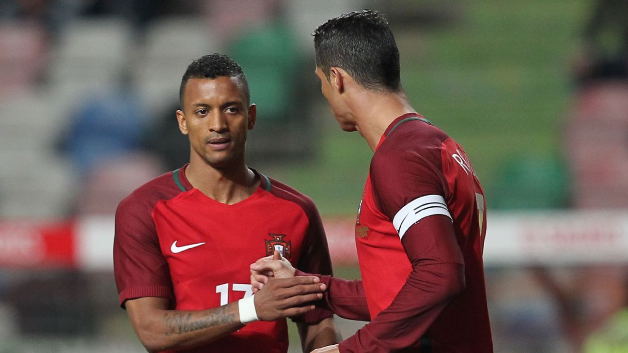 Nani, left, figures to be a key player for Portugal versus Poland.