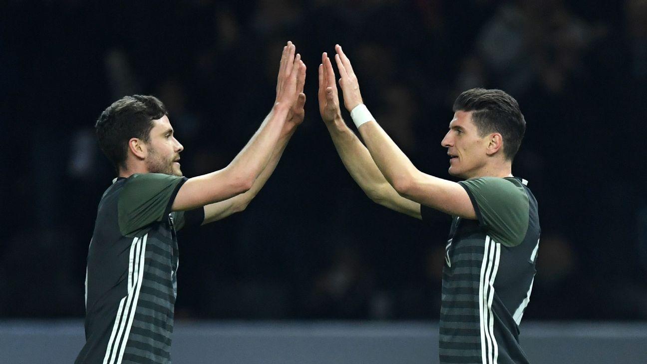 Jonas Hector & Mario Gomez