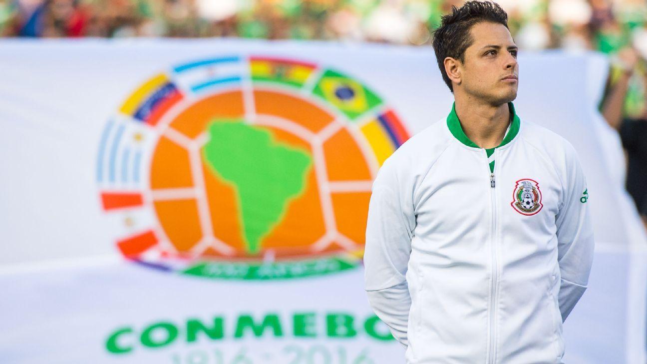 Mexico striker Javier Hernandez