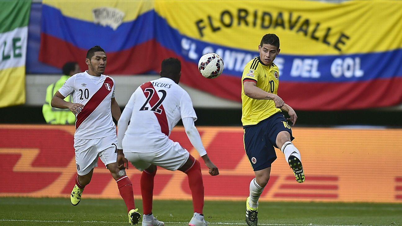 James vs Peru