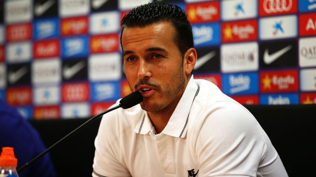 Pedro Barcelona news conf