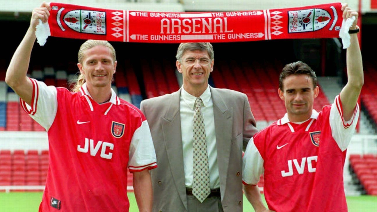 Emmanuel Petit played under Arsene Wenger at Arsenal from 1997 to 2000.