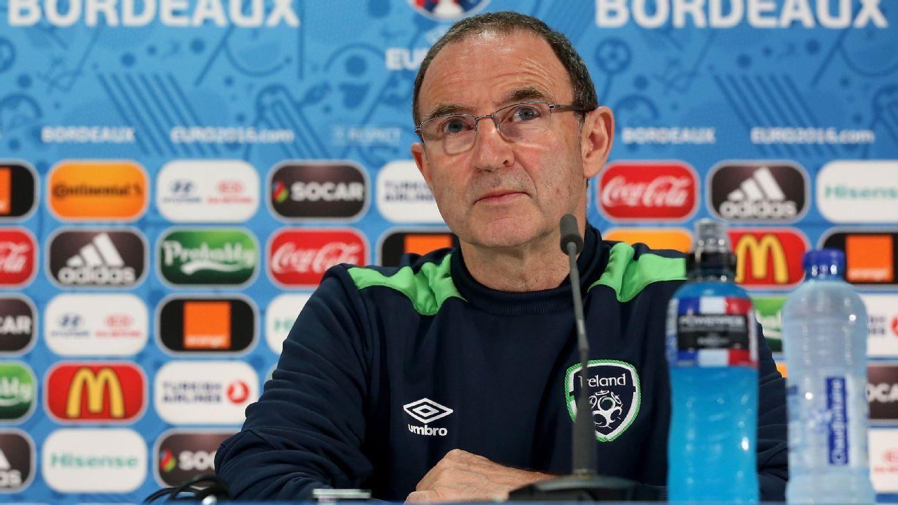 Martin O'Neill Rep. of Ireland