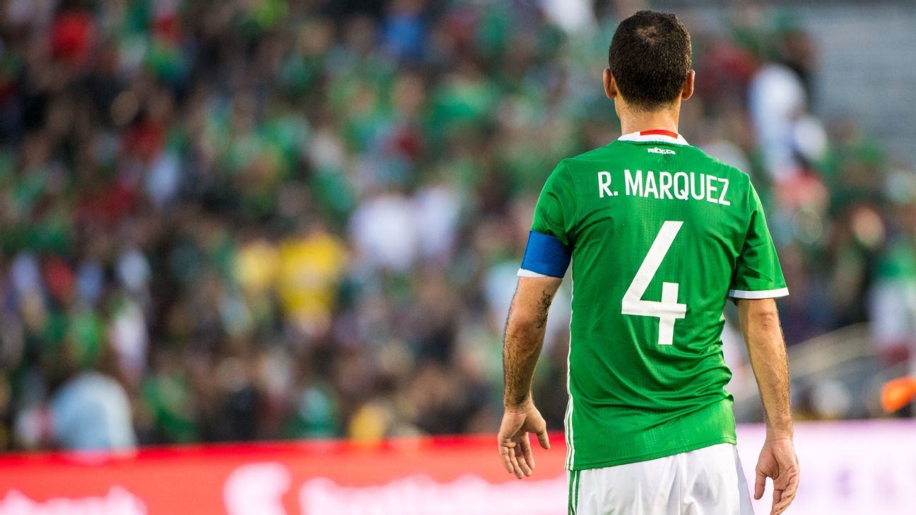 Rafael Marquez brings four World Cups' worth of experience to Mexico's roster.