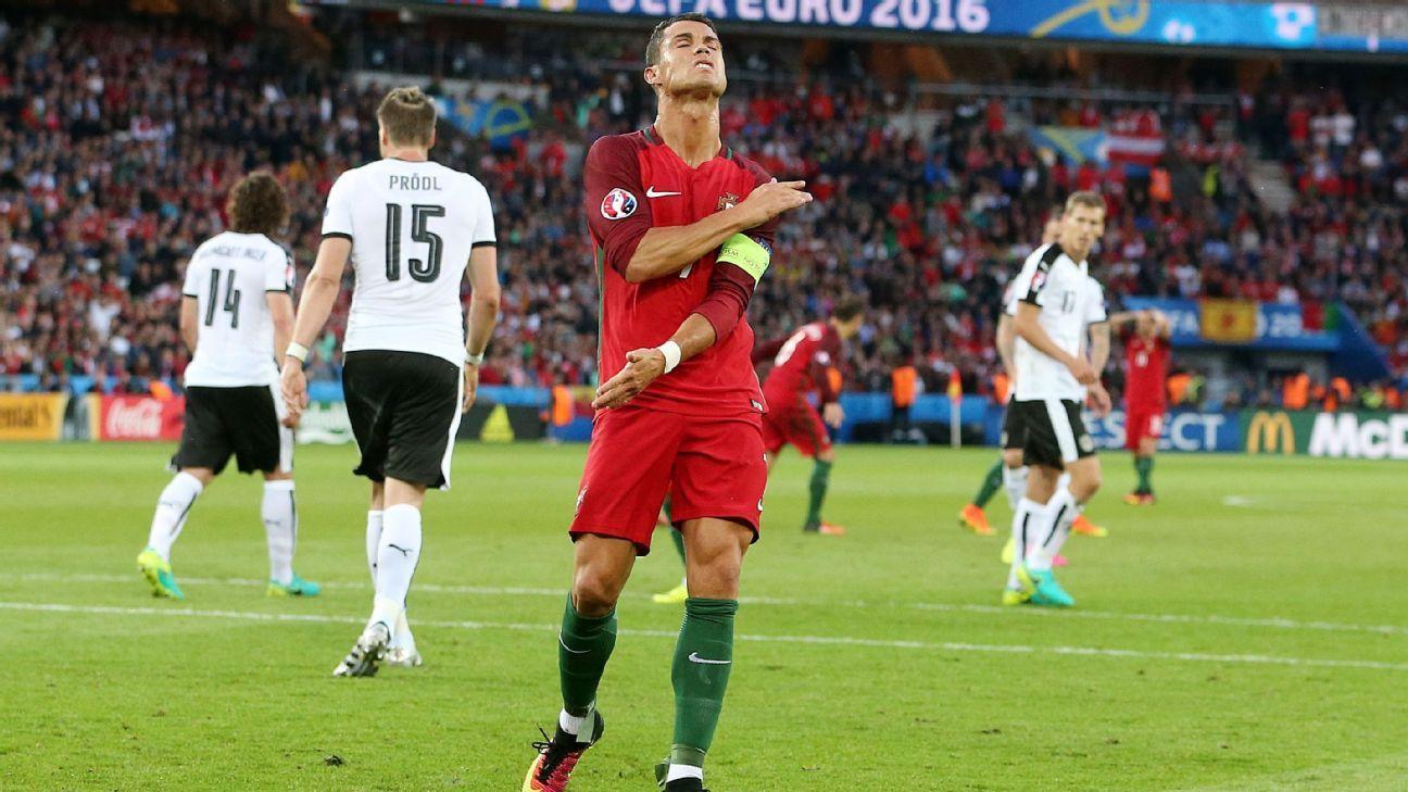 Ronaldo woe v Austria