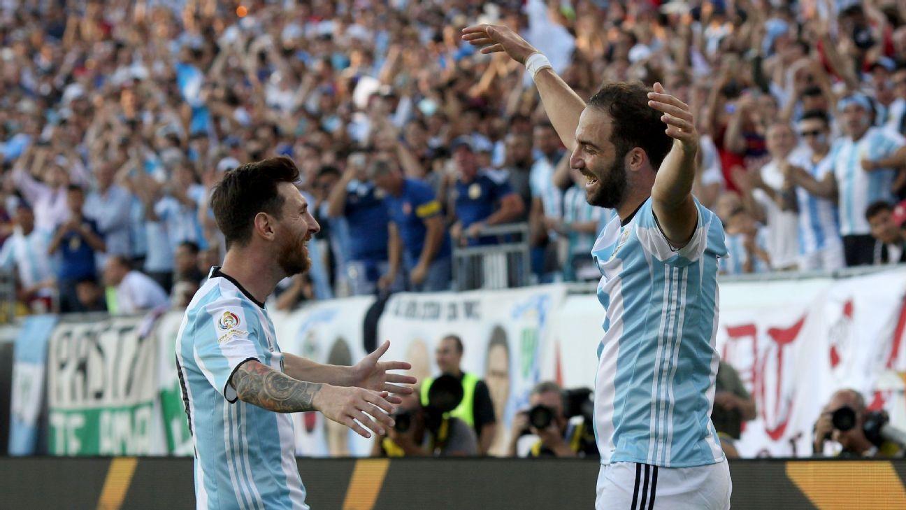 Leo Messi & Gonzalo Higuain
