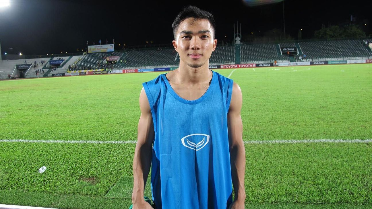 Muang Thong midfielder Chanathip Songakrasin