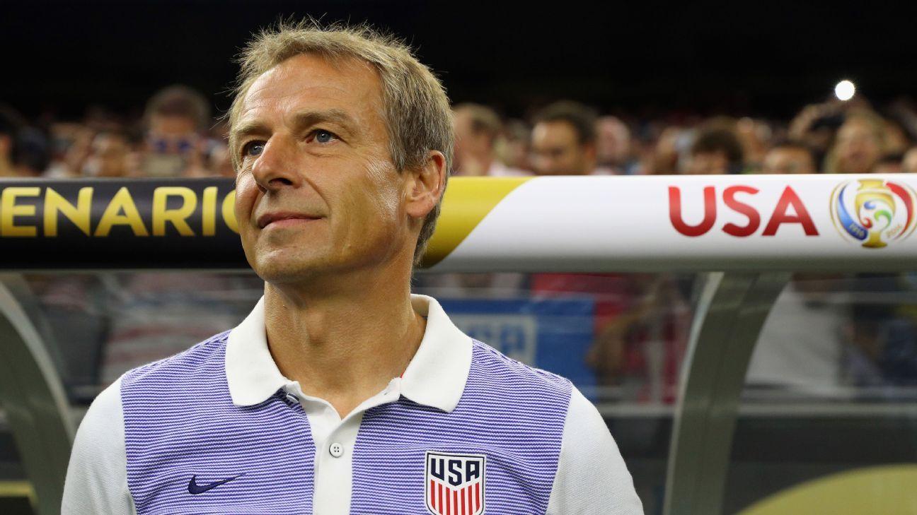 Klinsmann stoic vs Argentina 160621