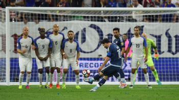 Messi record goal vs US 160621