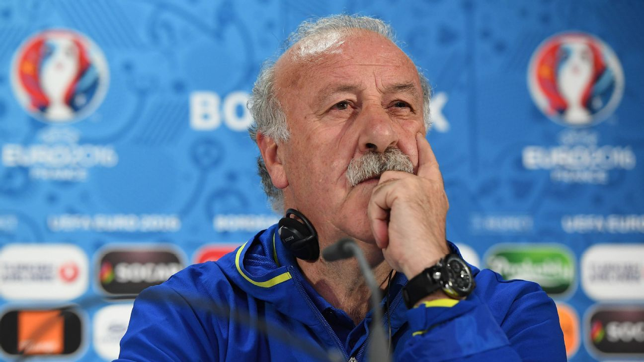 Spain manager Vicente del Bosque to resign after Euro 2016 exit