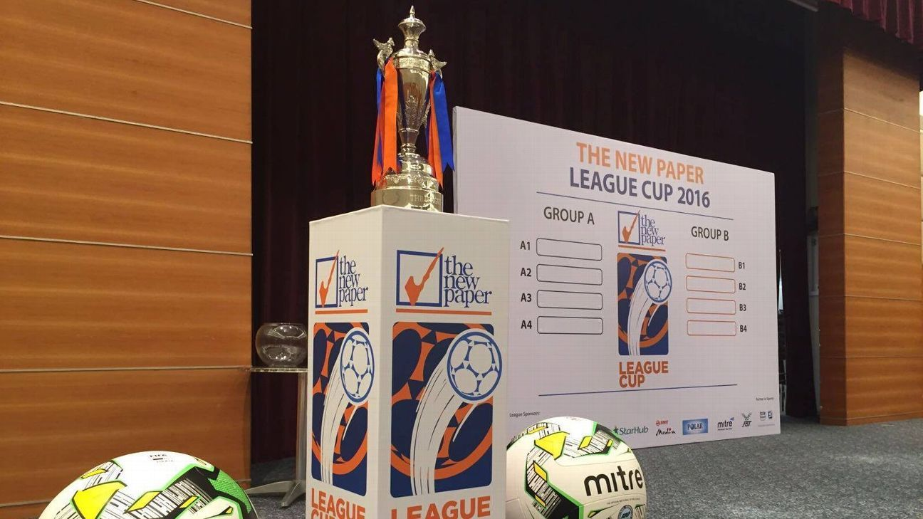 2016 Singapore League Cup draw