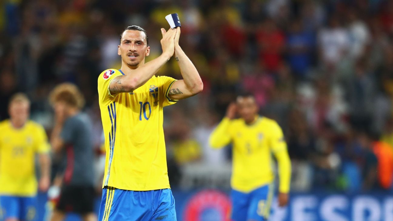 Zlatan Ibrahimovic, Sweden rule out World Cup return in Russia