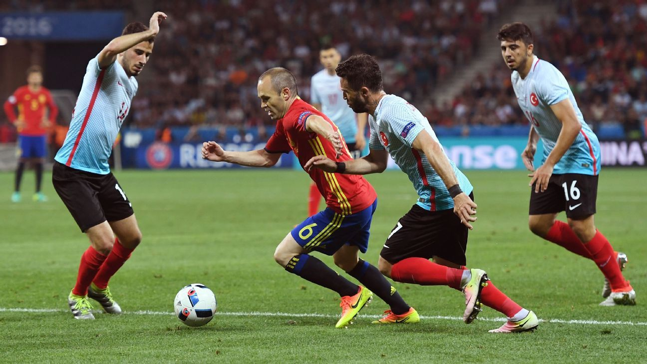 Iniesta vs Turkey
