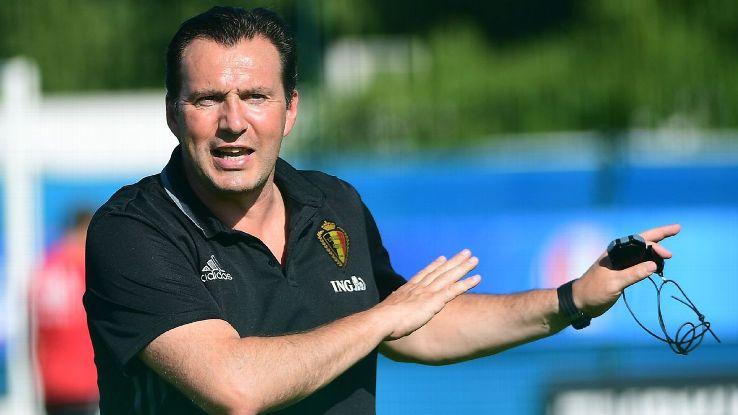 Former Belgium coach Marc Wilmots