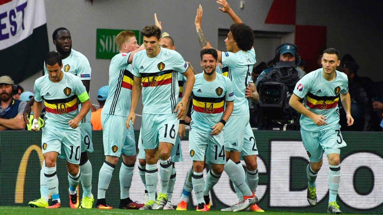 Belgium happy