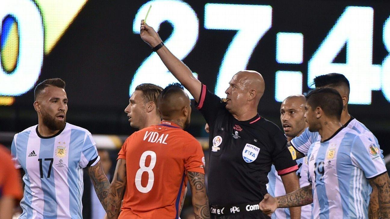 Copa America final referee Heber Lopes