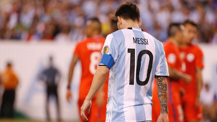 Messi to quit Argentine National team after Copa America loss