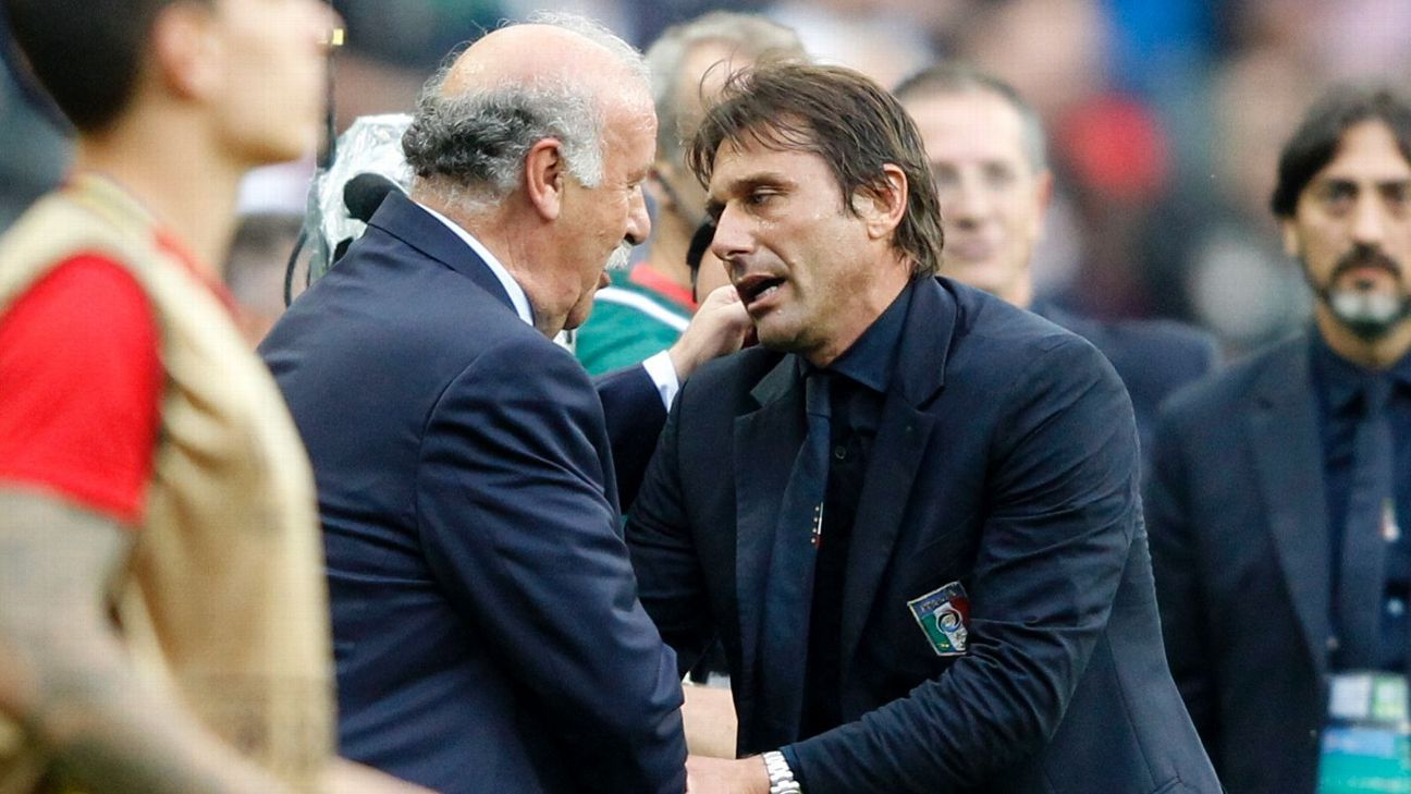 Del Bosque and Conte