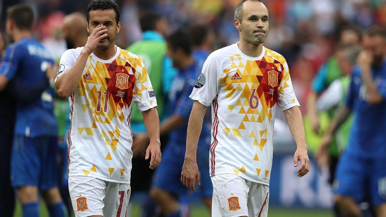 Spain woe v Italy