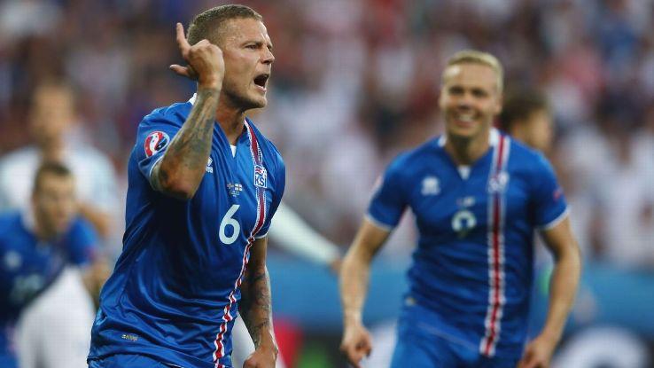 Iceland centre-back Ragnar Sigurdsson