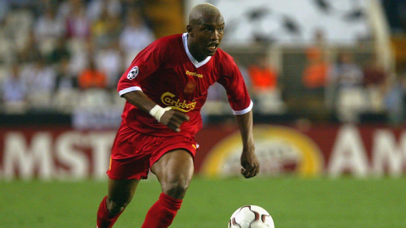 El-Hadji Diouf Liverpool 2002