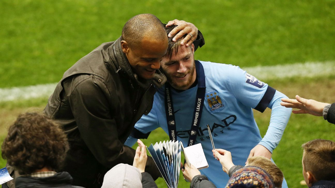 Manchester City midfielder Jack Byrne