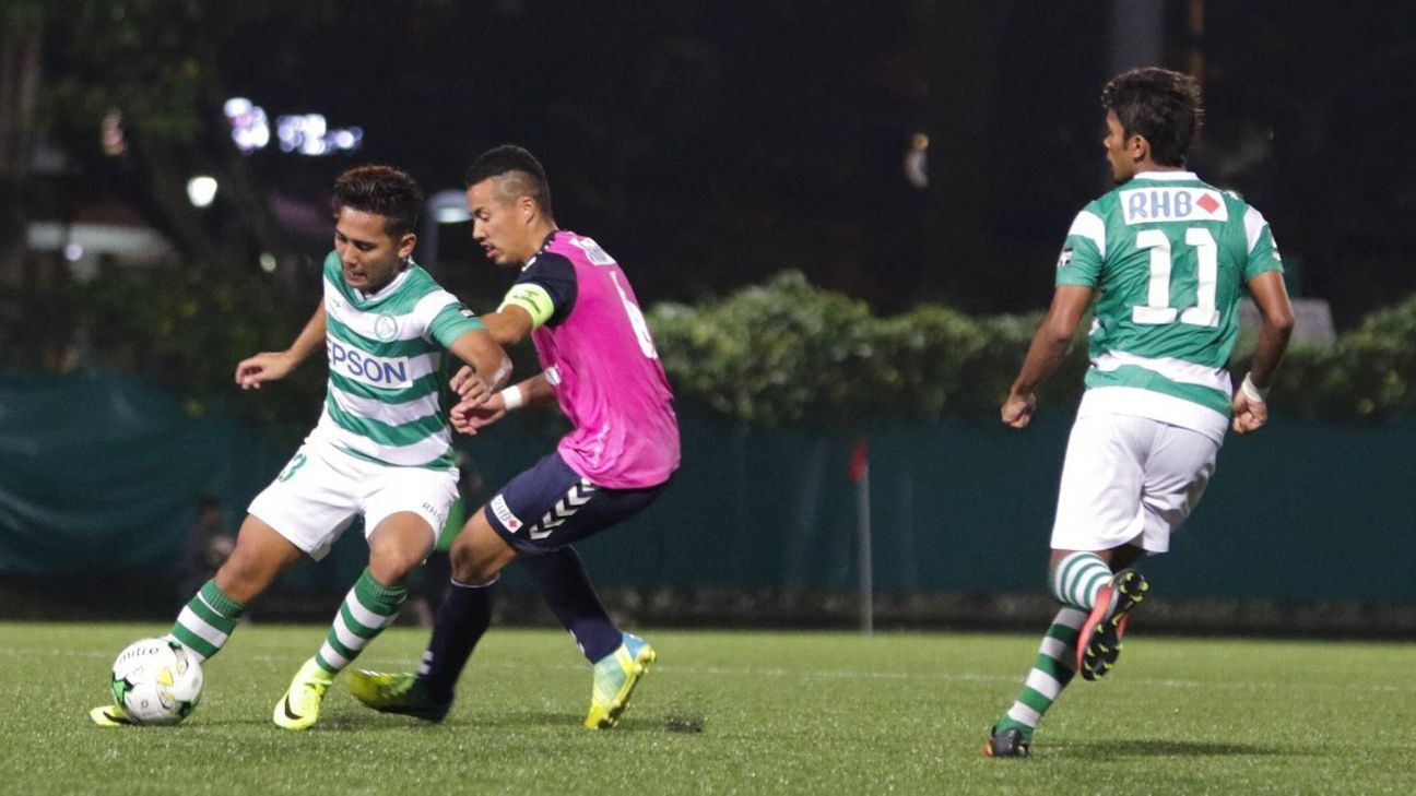 Geylang striker Sahil Suhaimi