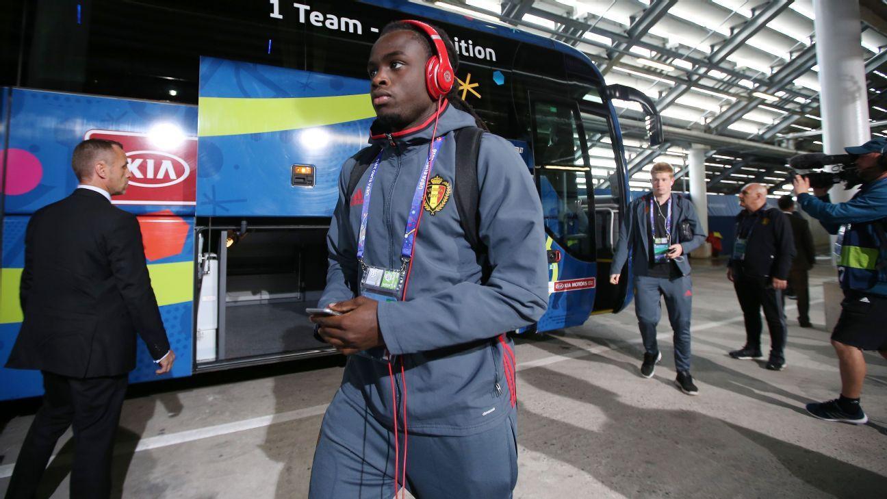 Belgium defender Jordan Lukaku