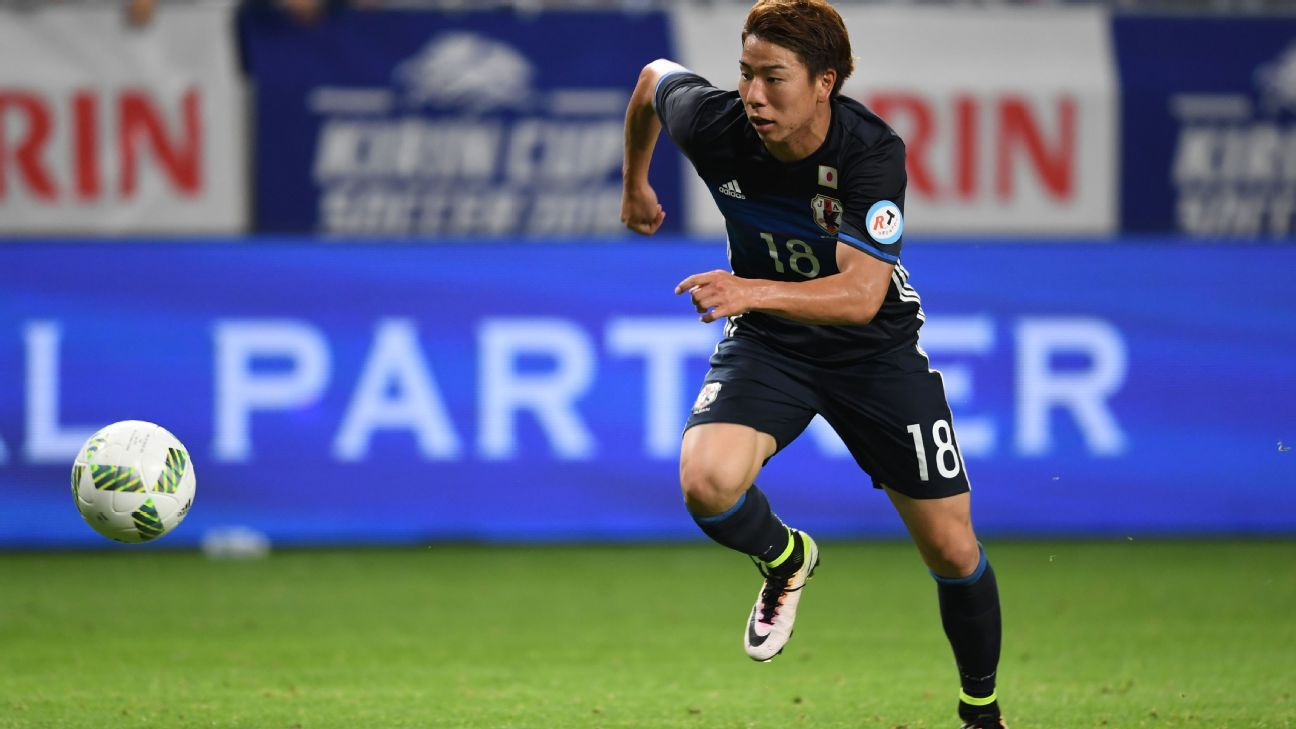 Arsenal confirm Takuma Asano to spend second season on loan at Stuttgart