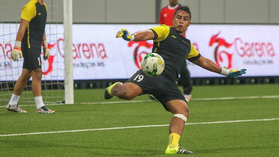 Balestier Khalsa goalkeeper Zaiful Nizam
