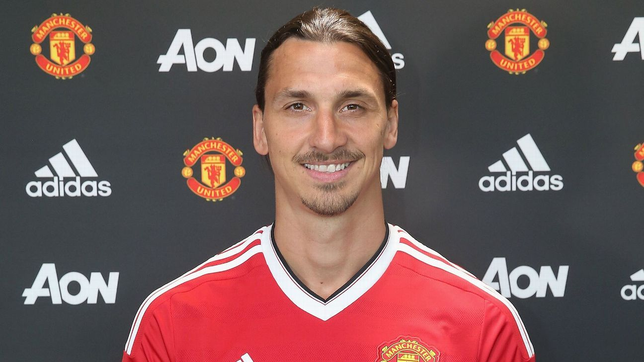 Zlatan Ibrahimovic takes No. 9 from Martial as Man Utd unveil numbers