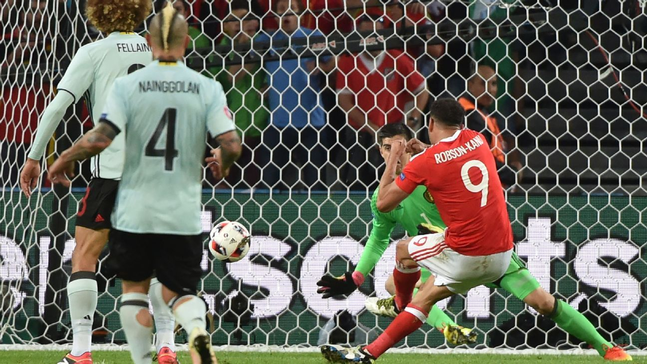 Hal Robson-Kanu scored to put Wales ahead.