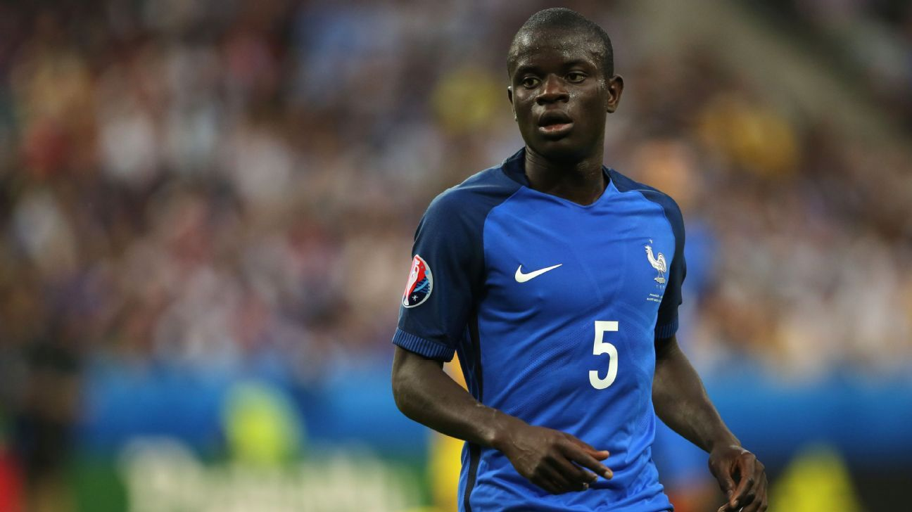 Defensive-minded midfielder like France's N'Golo Kante will feature at the 2018 World Cup.