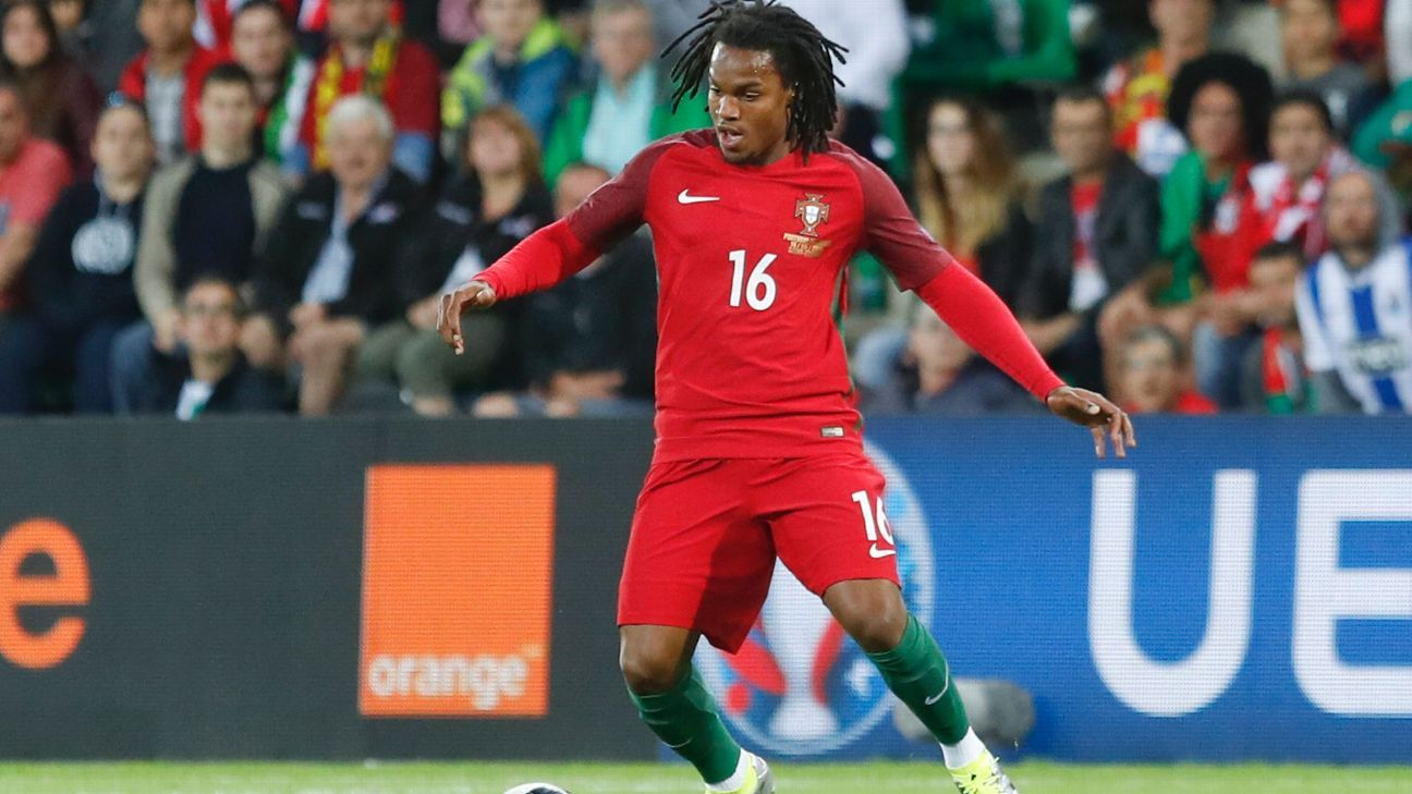 Renato Sanches of Portugal