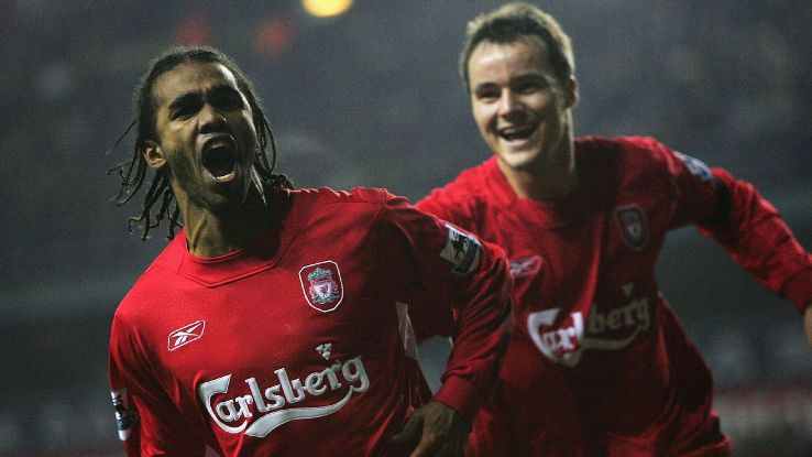 Ex-Liverpool striker Florent Sinama Pongolle
