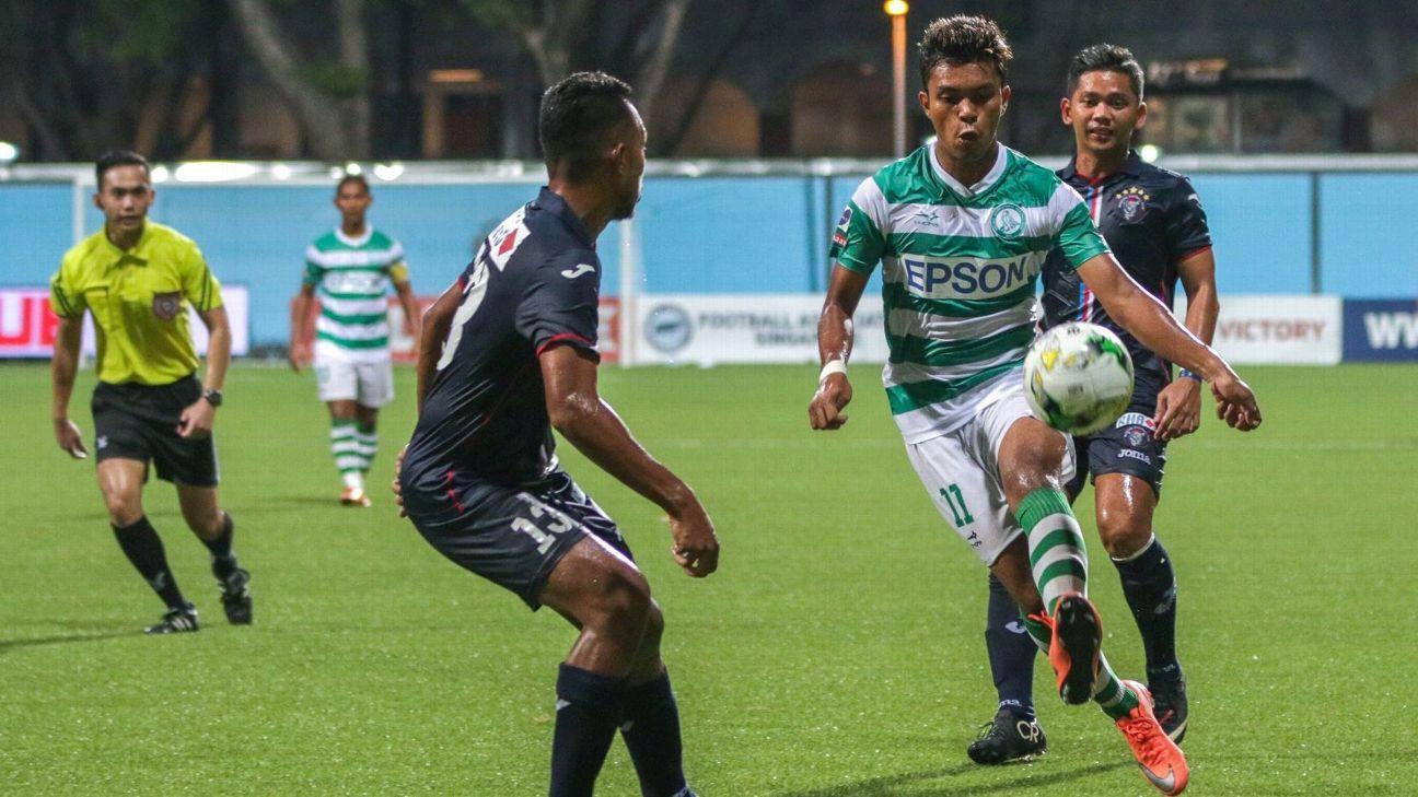Geylang midfielder Safirul Sulaiman
