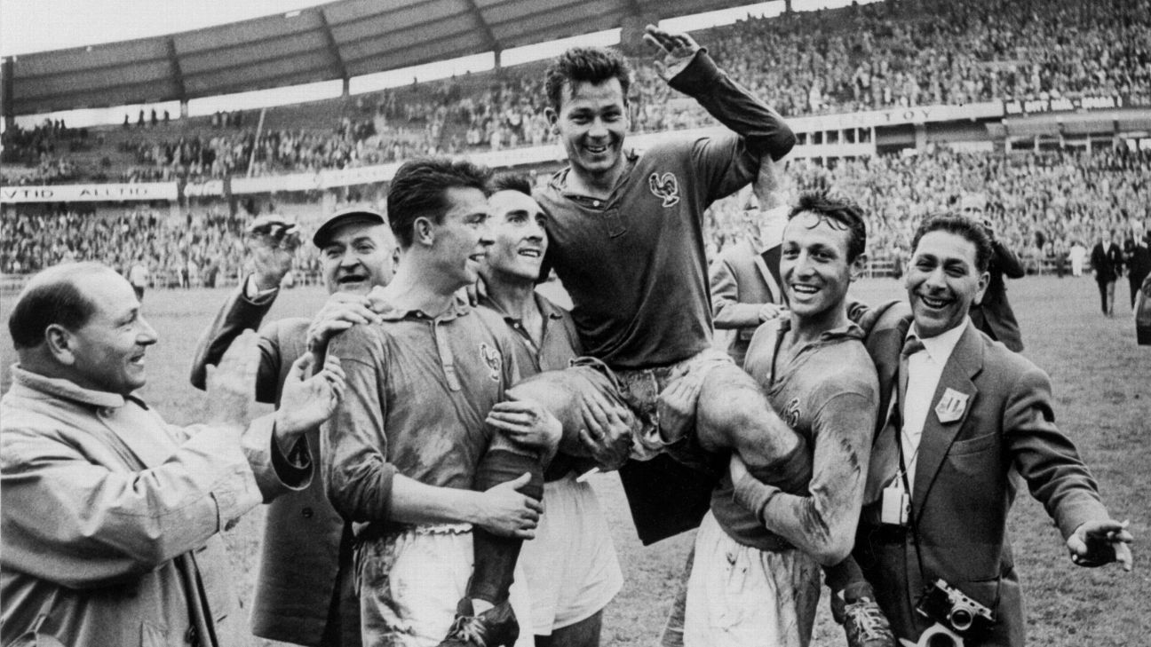 Image result for just fontaine vs west germany