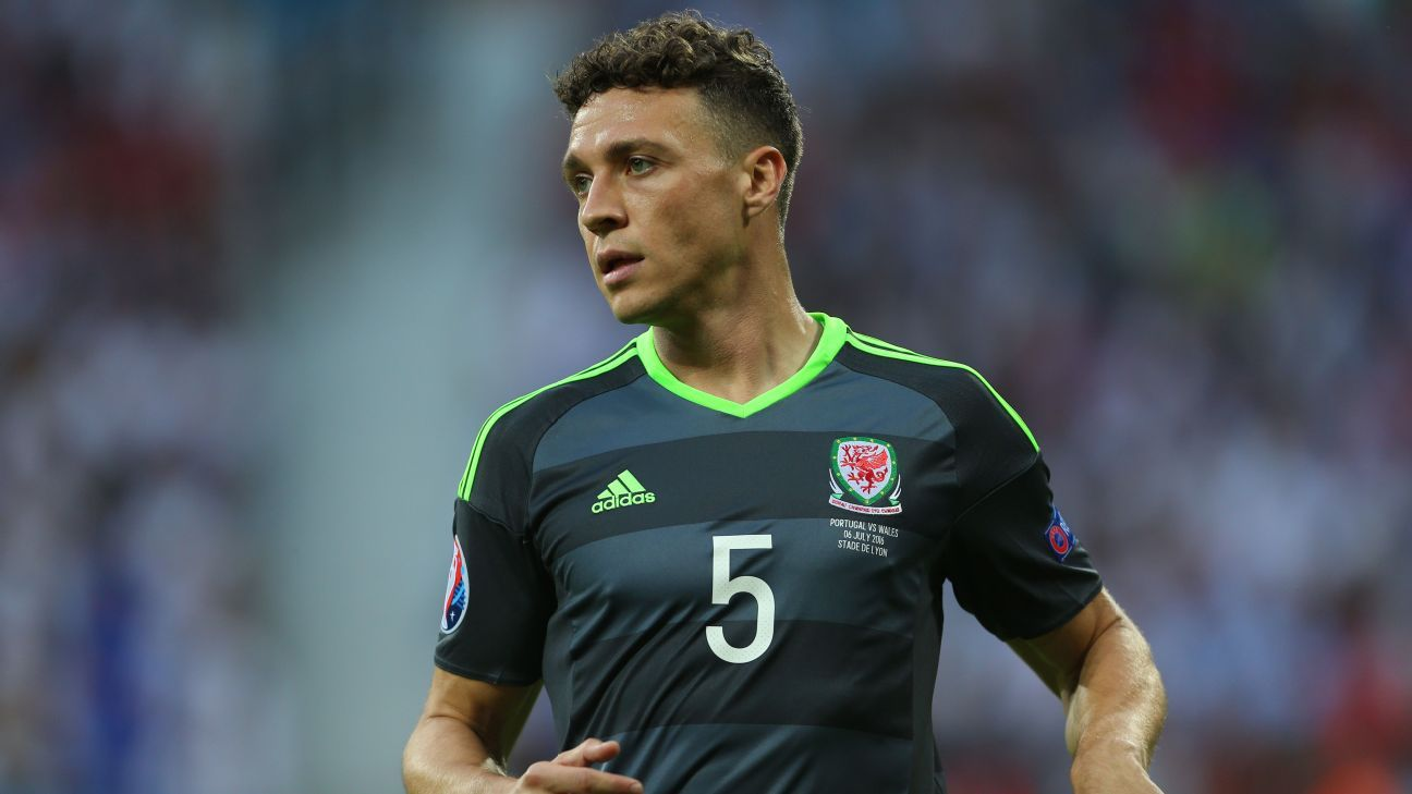 James Chester v Portugal