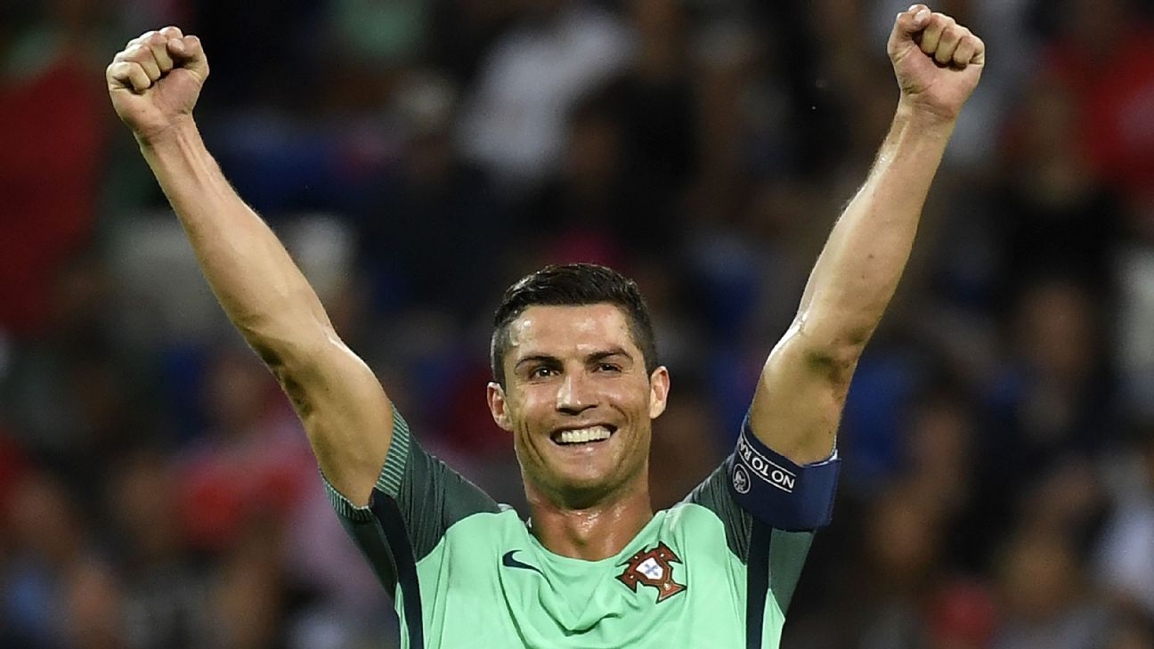 Cristiano Ronaldo on brink of winning Euro 2016 with Portugal