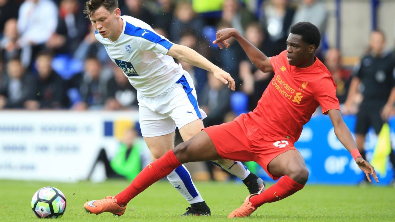 Ovie Ejaria and Liverpool defeated Tranmere Rovers.