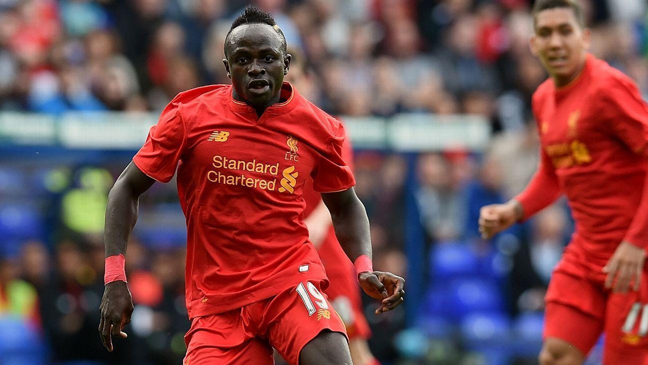Liverpool's Sadio Mane vs Tranmere