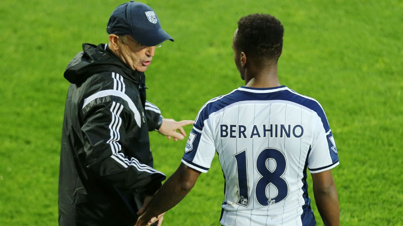 Tony Pulis and Saido Berahino