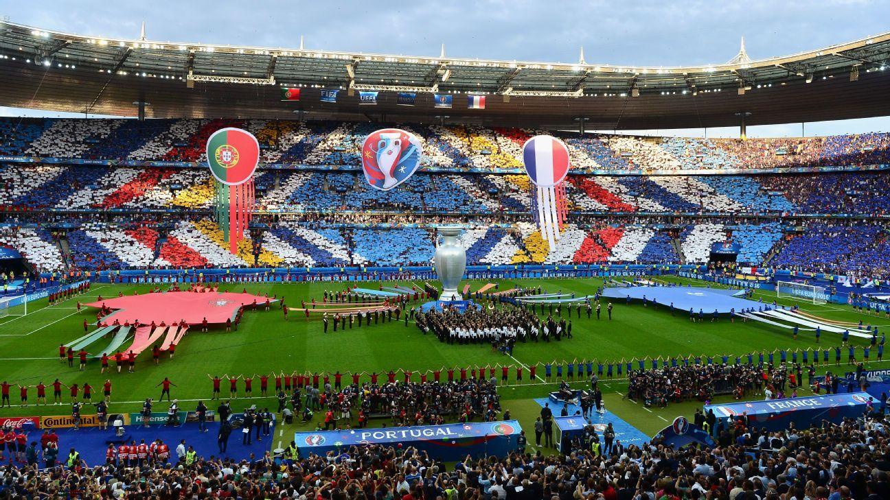 Euro 2016 final pregame