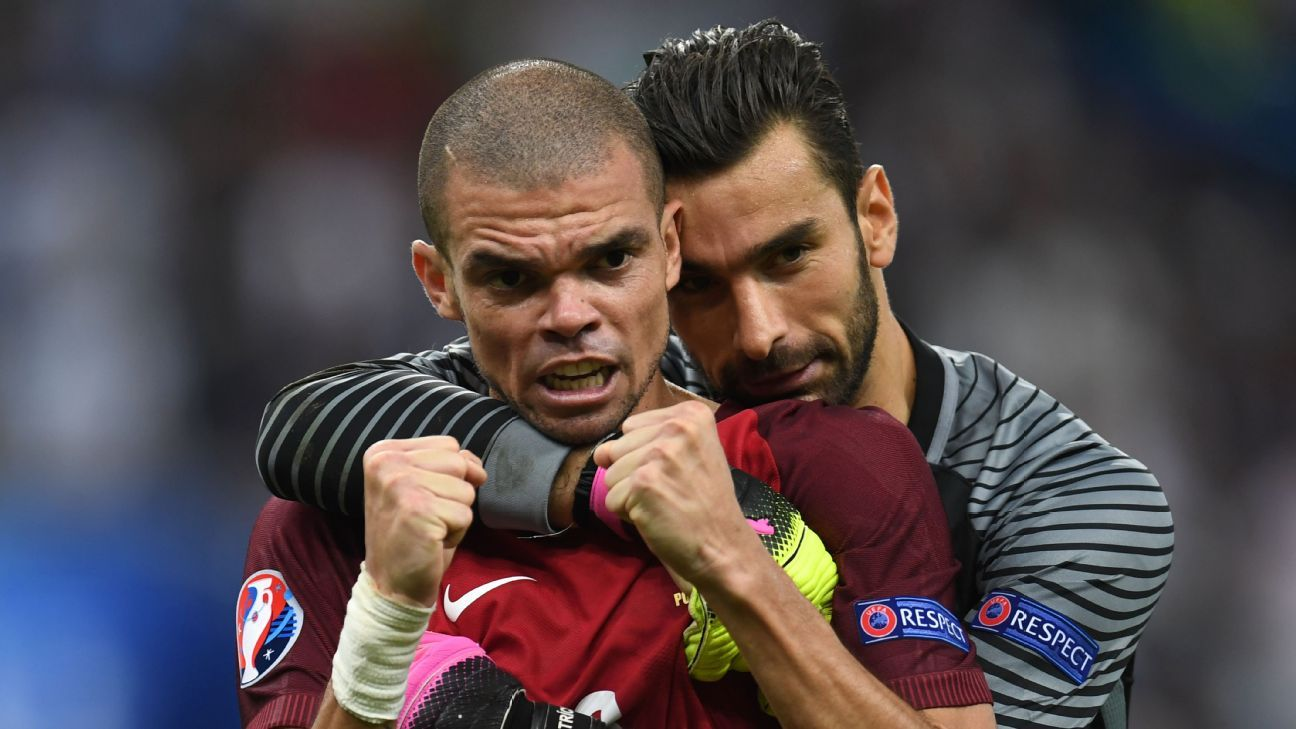 Pepe and Rui Patricio