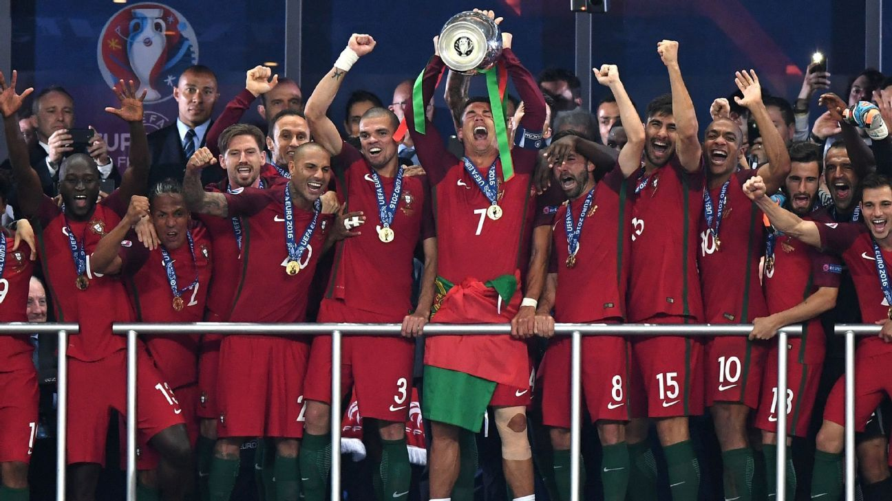 Portugal lift European Championship