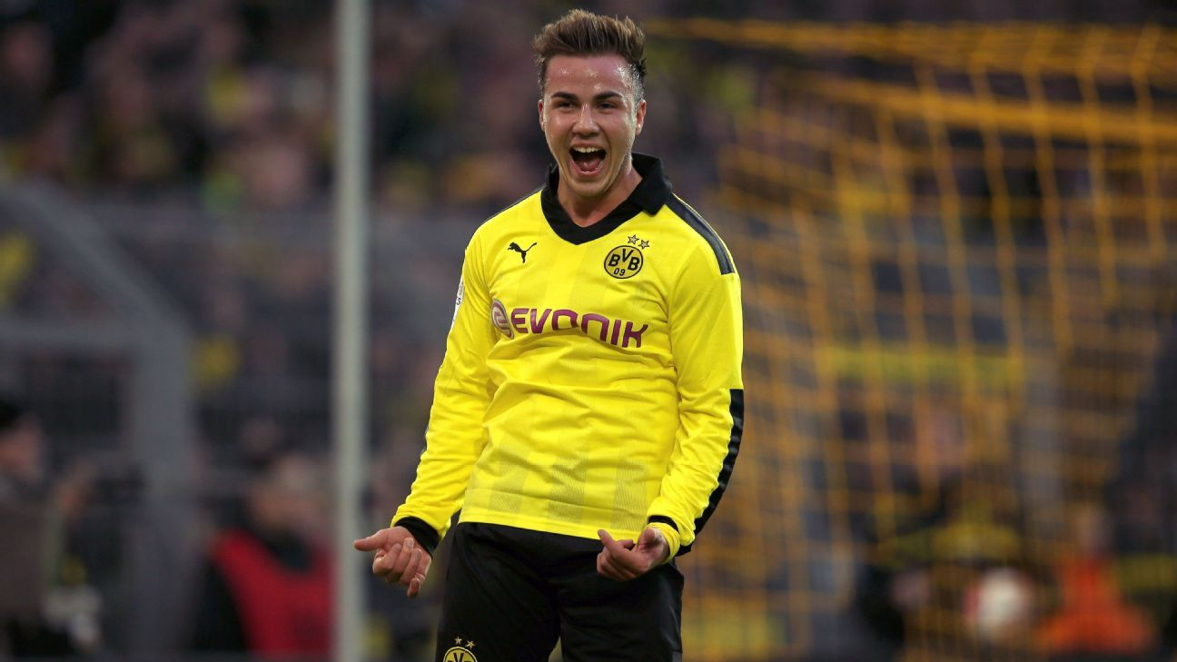 Mario Gotze at Borussia Dortmund