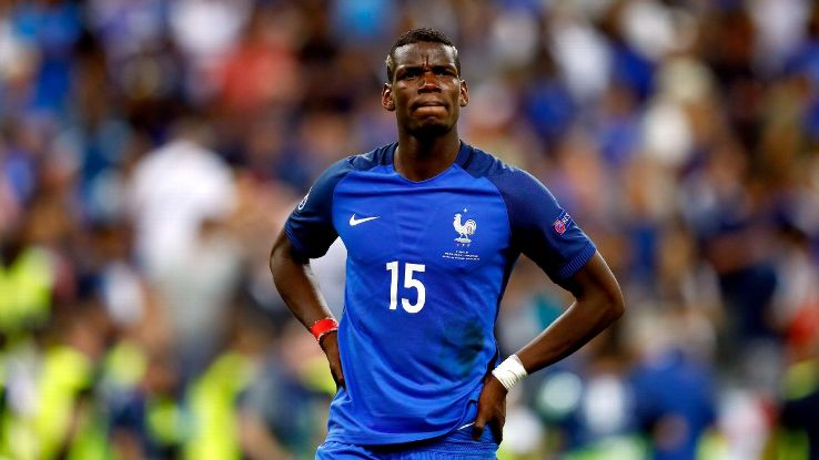 France midfielder Paul Pogba