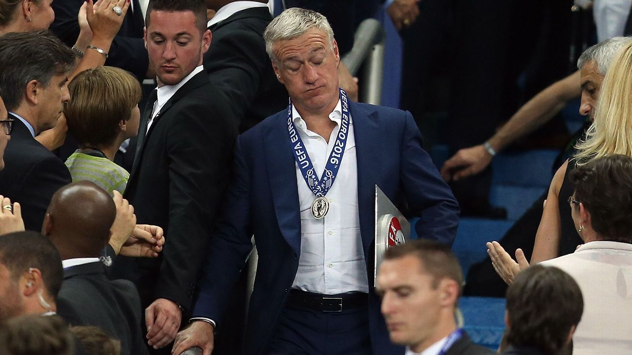 France manager Didier Deschamps