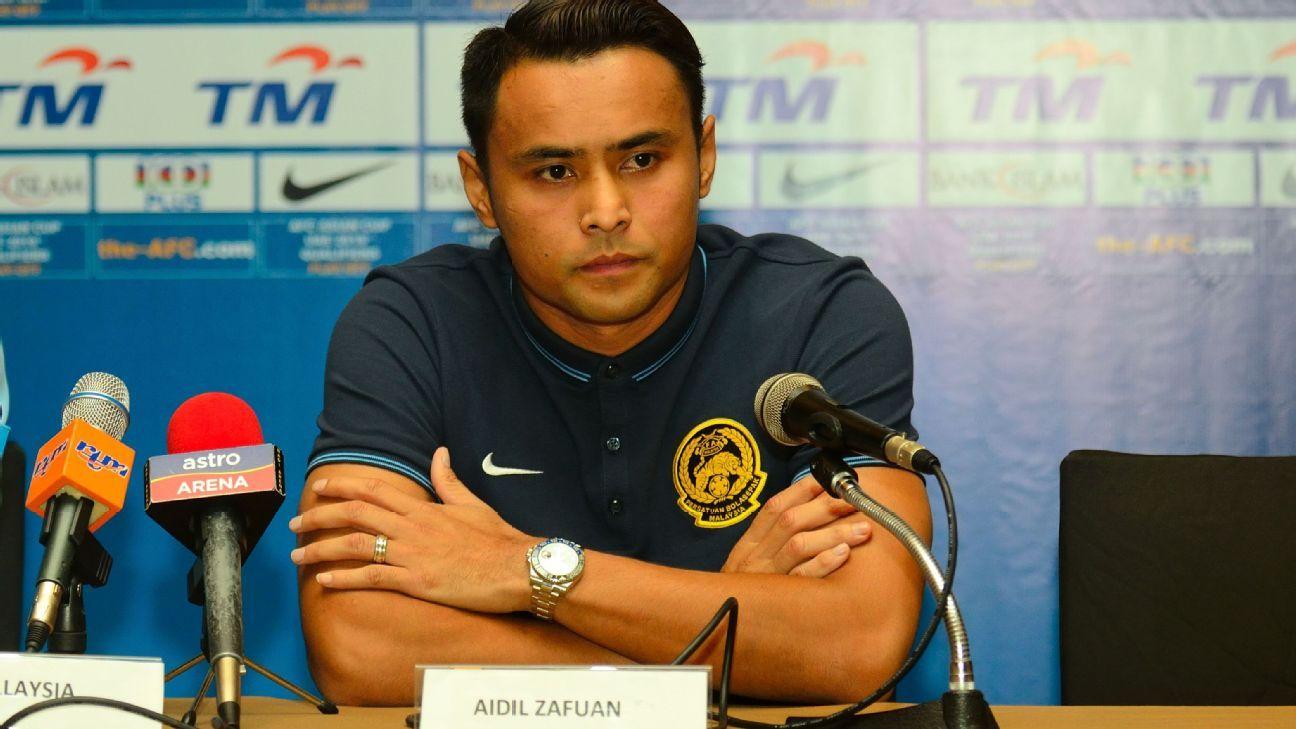 Malaysia captain Aidil Zafuan