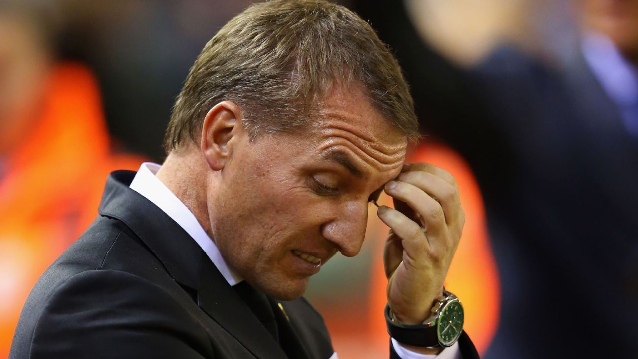Brendan Rodgers woe